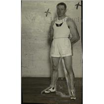 1923 Press Photo Joe Red Murray San Francisco CA National handball champ