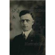 1919 Press Photo Ralph Richards  boxing promoter in Colorado Springs - net21488