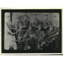 1900 Press Photo Owls Band - spa32799