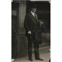1919 Press Photo Golfer Tex Rickard in suit - nes51617