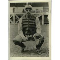 1931 Press Photo St. Louis Browns catcher Russell Young - nes51631