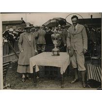 1922 Press Photo E.W.E. Holderness Winner Brestwick Amateur Golf Championship