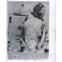 1969 Press Photo Lunar Module Pilot Russell Schweickart - RRR53437