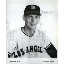 1965 Press Photo Dan Osinski, RHP BR, Los Angeles Angels - cvb76613