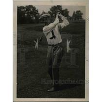 1920 Press Photo Pat O'Hara at Metropolitan Open Golf Greenwich CT - net23554