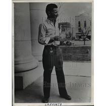 1939 Press Photo Jack Patterson's Solo Flight Attempt Lands Him In Jail