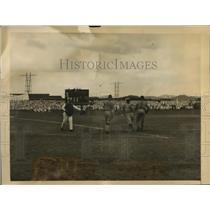 1923 Press Photo Navy Championship baseball game in Panama by US fleet