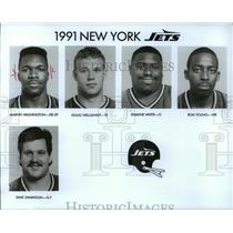 1991 Press Photo Football Pro New York Jets - spa33848