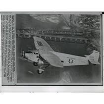 1986 Press Photo Ford tri-motor passenger airplane - spa34042
