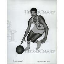 1972 Press Photo Wally Jones - Philadelphia 76ers - mjs03642