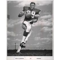 1968 Press Photo Billy Martin TE Vikings - mjs03703