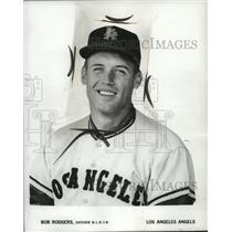 1965 Press Photo Los Angeles Angels catcher Bob Rodgers - nes52026