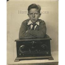 1924 Press Photo Stuart Marble Radio Technology - RRR58465