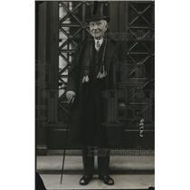 1915 Press Photo John D Rockefeller, Sr smiling for the camera - cvb77933