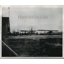 1953 Press Photo Butler airport, Milwaukee's first municipally owned airfield