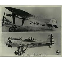 1941 Press Photo Ryan M-l vintage of 1926 & low-wing monoplane trainer