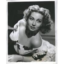 1940 Press Photo Ann Sothern Actress Singer - RRR75863
