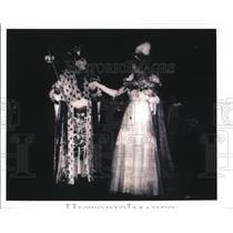 1939 Press Photo Queen of 12th Night, Mardi Gras, New Orleans - noca00354