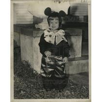 1957 Press Photo New Orleans Mardi Gras Skippy A. Rabbit - noca00953