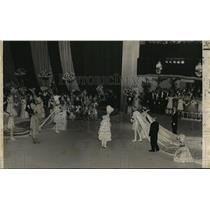 1958 Press Photo Carnival Ball- Conclusion of Carnival festivities on Tuesday.