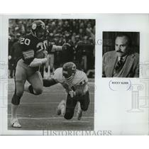 Press Photo Rocky Bleier  Pittsburgh Steelers