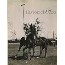 1923 Press Photo Del Monte Field Polo Match