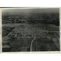 1931 Press Photo Air view of Randolph field, San Antonio, Tex. for army training