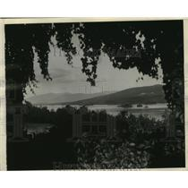 1929 Press Photo View from Moosehead Lake, Maine