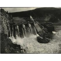 1917 Press Photo Washington Water Power Co.