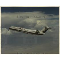 1988 Press Photo Airplane McDonnell Douglas Ultra-high Bypass MD-UHB