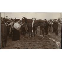 1907 Press Photo Derby Queen's Spokane Interstate Fair - spx09141
