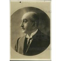 1918 Press Photo Dominingo Amunategui Minister of the Interior, Chile