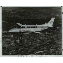 1969 Press Photo Commuter Airlines in mid flight - cva37644