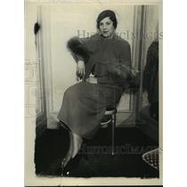 1933 Press Photo Mrs. Jennings Martineau - mja35743