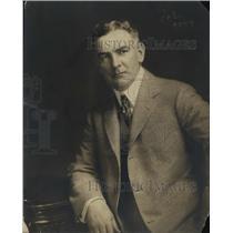 1919 Press Photo GeneMelady of Omaha Nebraska manager of Caddock - net26293