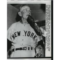1928 Press Photo NY Yankee manager Casey Stengel in Kansas City - net27265