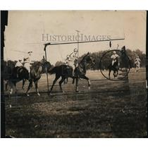 1921 Press Photo Cubans vs Americans at polo match - net27434