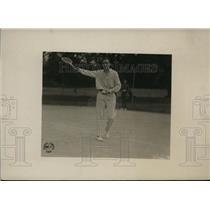 1919 Press Photo 1st Lt Dean Mathey 314th Field Artillery US tennis star