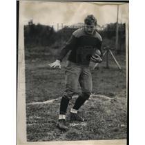 1937 Press Photo Joe Prokop, Cathedral Latin football halfback - net29937