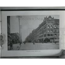 1900 Press Photo Riverside Avenue Looking East - spa33972