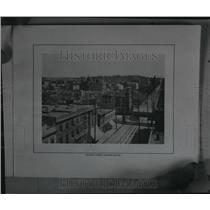 1909 Press Photo Monroe Street Looking South - spa33973