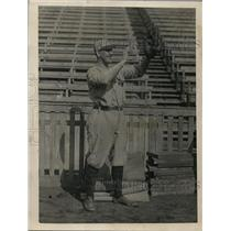 1923 Press Photo Tom McNamara, left fielder, Princeton University