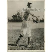 1926 Press Photo Stanford pitcher John Sobieski, Count Sobieski descendant