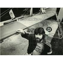 1981 Press Photo Eric Wittak formed the Ultralight Flight Odyssey company.