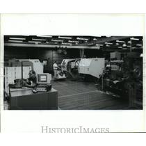 1994 Press Photo Ladish Company, Custom Forgings for Jet Engines- Wisconsin