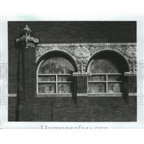 1919 Press Photo Columbus, Wisconsin-Farmers and Merchants Union Bank 1919.