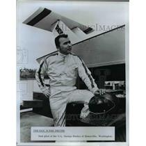 Press Photo New pilot of the U-1, George Henley of Eatonville, Washington.
