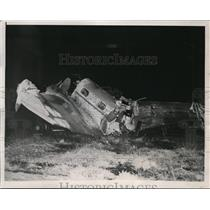 1938 Press Photo New York and San Francisco Socialites Injured, Pilot Killed