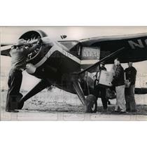 1954 Press Photo Single engine Stinson-Mercy Flights Inc. - orb82557