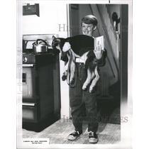 1967 Press Photo Walt Disney Wonderful World Clor Billy - RRR75893